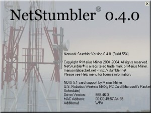 Утилита для разведки Netstumbler