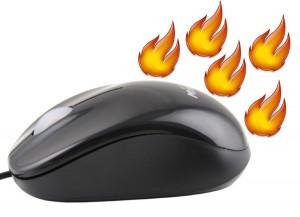 USB Warmer Mouse - удобная мышка с подогревом