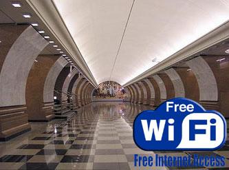Московское метро будет иметь бесплатный Wi-Fi