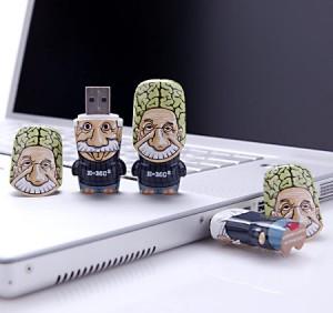 Флешки с мозгами Эйнштейна