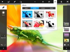 Adobe System запланировала выход Photoshop Touch для iPad