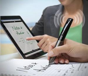 Шариковая ручка с беспроводной технологией WiFi