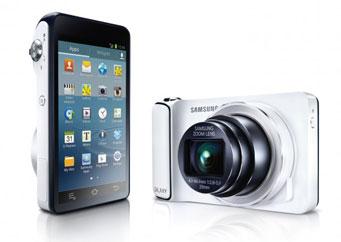 Samsung презентовал камеру на ОС Android с Wi-Fi
